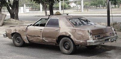 ポンコツ車